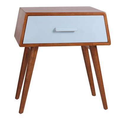 Brooklyn End Table Finish: Aqua