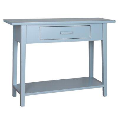 Celeste Console Table Color: Aqua