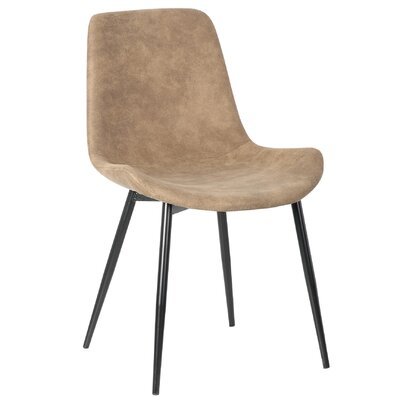 Rosario Upholstered Dining Chair Upholstery: Brown