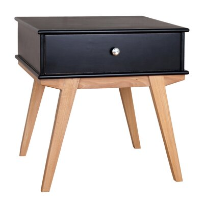 Lucille End Table Finish: Black