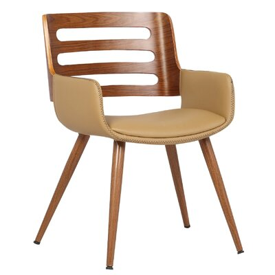 Olivia Side Chair Upholstery: Natural