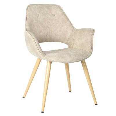 Jasmine Arm Chair Upholstery: Natural
