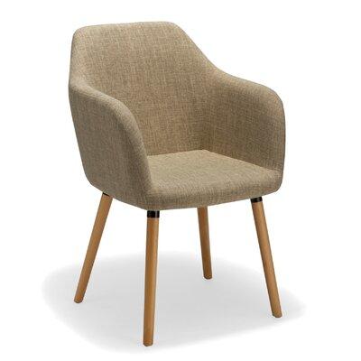 Estate Arm Chair Upholstery: Cream