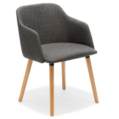 Arthur Arm Chair Color: Gray