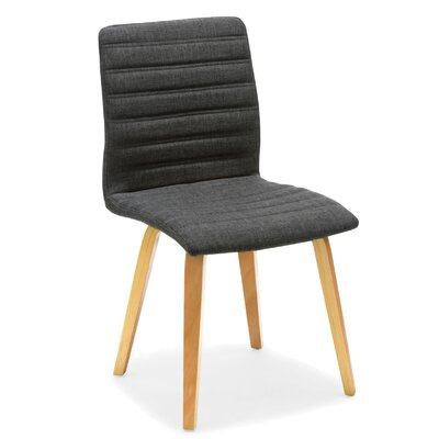 Milo Side Chair Color: Gray
