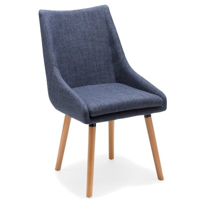 Bentley Side Chair Upholstery: Blue