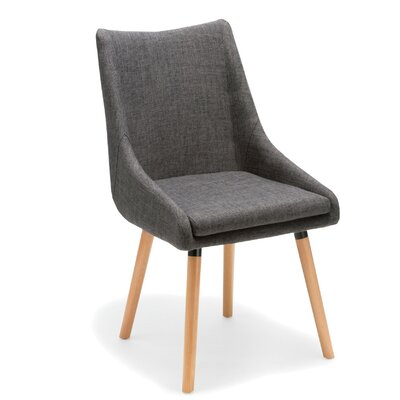 Bentley Side Chair Upholstery: Gray