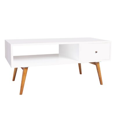 Bowie Coffee Table Color: White