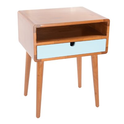 Anais End Table Color: Aqua