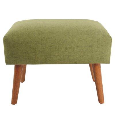 Serena Ottoman Upholstery: Green