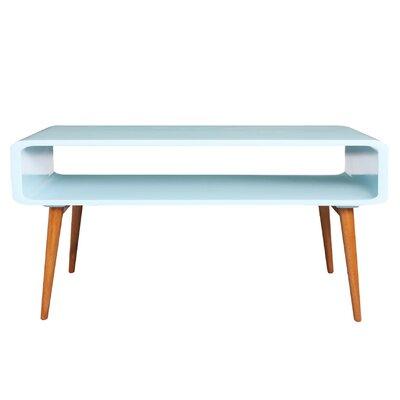 Lux Coffee Table Color: Aqua
