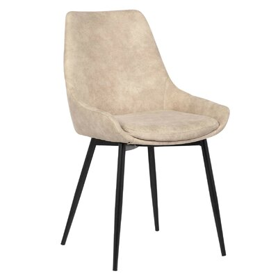Rita Side Chair Upholstery Color: Natural
