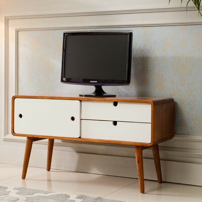 Waterford 40.5 TV Stand Color: White