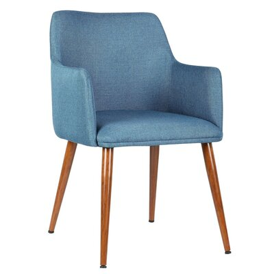 Andra Leisure Arm Chair Color: Blue