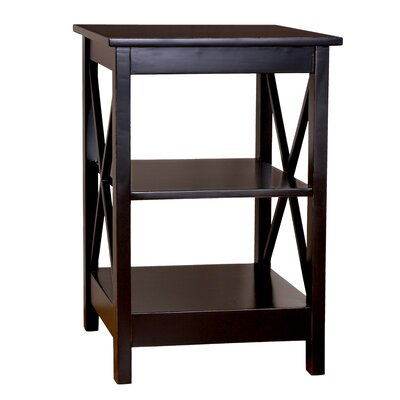 Trisha End Table Color: Black