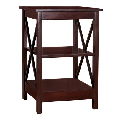 Trisha End Table Color: Brown