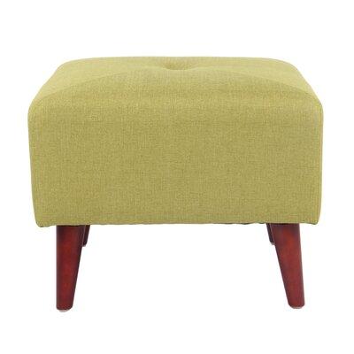 Daisy Ottoman Upholstery: Avacado Green