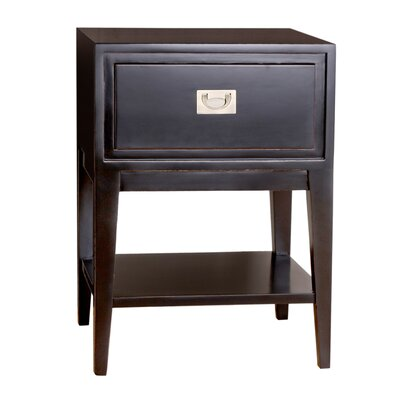 Cranston Nightstand Color: Black