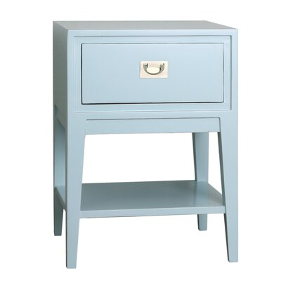 Cranston Nightstand Color: Aqua