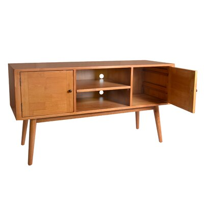 Sergio Media Console TV Lowboard Color: Natural