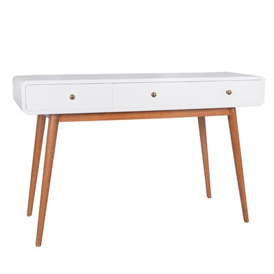 Console Table Finish: White