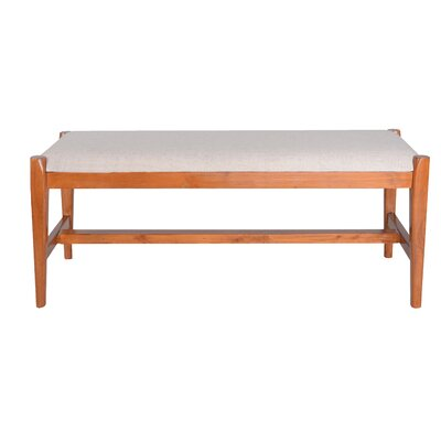 Griffin Upholstered Bench CH036B BRN