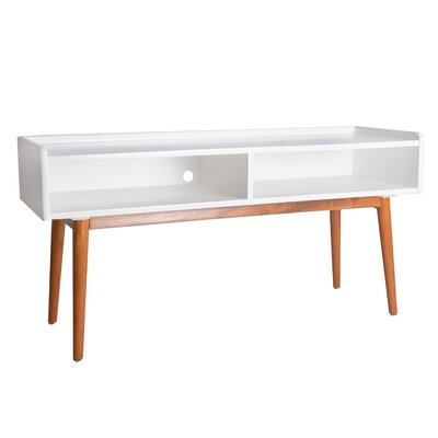48 TV Stand Color: White