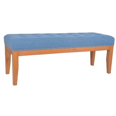Lilian upholstered Bench CH042C BLU