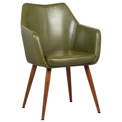 Aveline Leisure Armchair Upholstery: Green