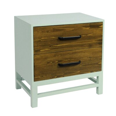 Helena End Table Color: Aqua