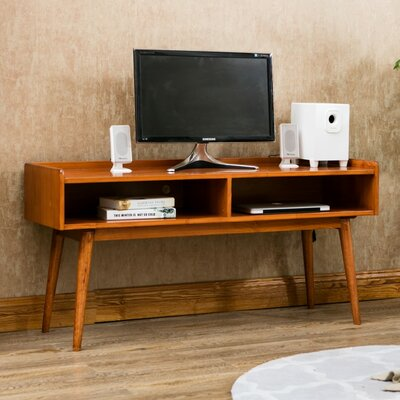 48 TV Stand Color: Brown