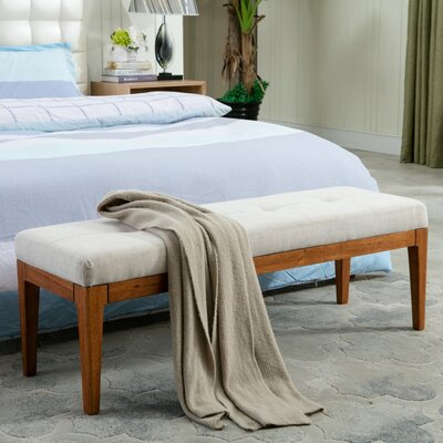 Lilian upholstered Bench CH042C BRN