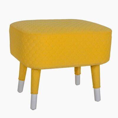 Lillet Ottoman Upholstery: Yellow
