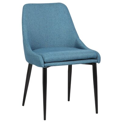 Suzanne Side Chair Upholstery: Blue