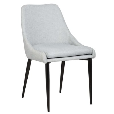 Suzanne Side Chair Upholstery: Gray