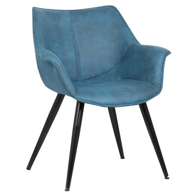 Scottie Armchair Upholstery: Blue