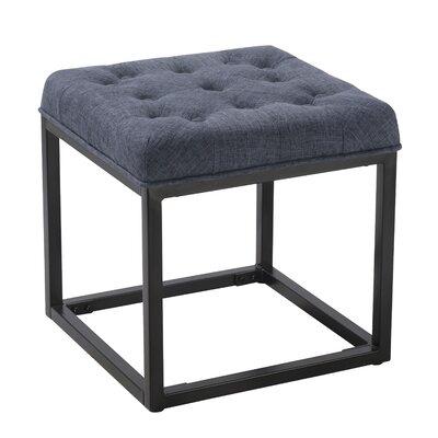 Delia Ottoman Upholstery: Blue