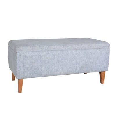 Penny Upholstered Storage Bench Color: Baby Blue CH050C BLU