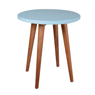Ashton End Table Color: Blue