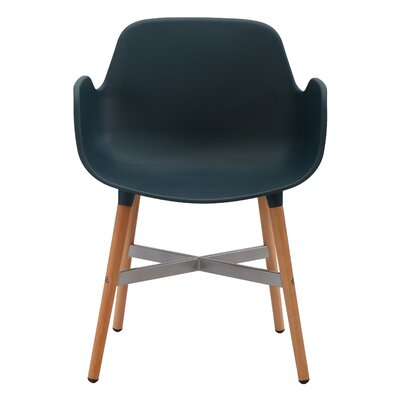 Margo Solid Wood Dining Chair Finish: Blue
