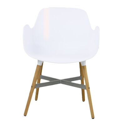 Margo Solid Wood Dining Chair Finish: White