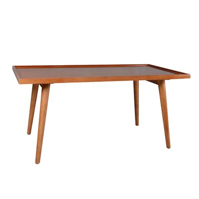 Tray-Top Coffee Table Color: Natural