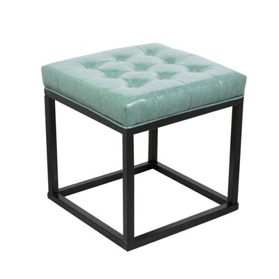 Pearle Ottoman Upholstery: Green