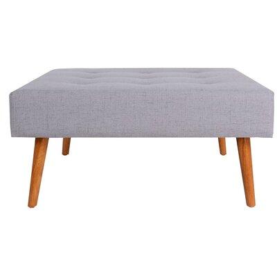 Helena Ottoman Upholstery: Gray