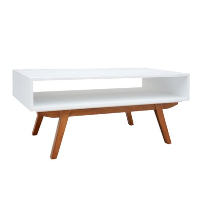 Bryzel Coffee Table Color: White