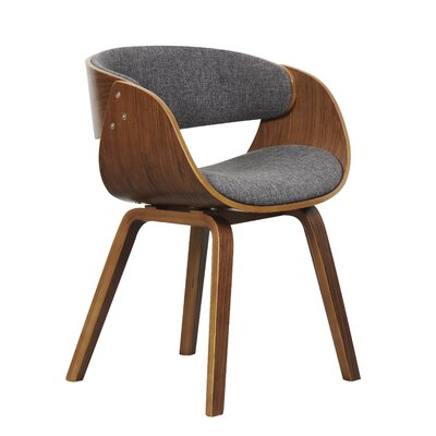 Bethel Dining Chair Upholstery Color: Gray