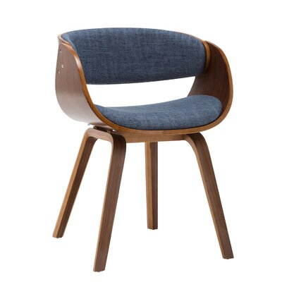 Bethel Dining Chair Upholstery Color: Blue