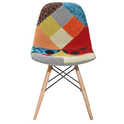 Guildhall Upholstered Dining Chair Color: Patchwork