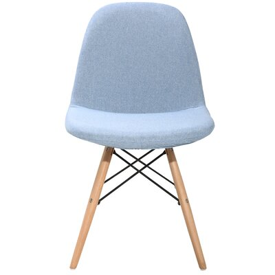 Guildhall Upholstered Dining Chair Color: Blue