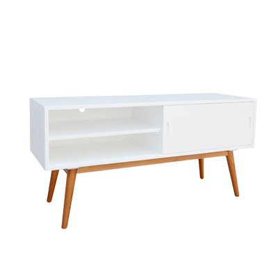 Starksboro Media Console 46.9 TV Stand Color: White
